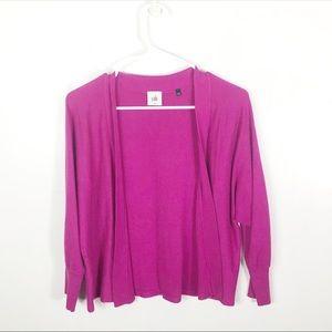 CAbi Raspberry Portico Shrug Cardigan Sweater